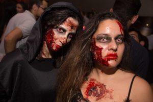 Noite de Halloween no Copacabana Open Air Experience