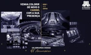 Casino da Madeira Celebra o 41º Aniversário